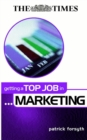 Image for Getting a top job in marketing