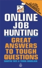 Image for Online job hunting  : great answers to tough questions