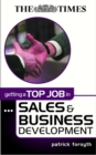 Image for Getting a top job in sales & business development