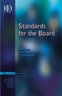 Image for Standards for the board  : improving the effectiveness of your board