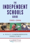 Image for The independent schools guide  : 2005-2006