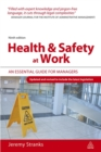 Image for Health & safety at work  : an essential guide for managers