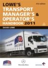 Image for Lowe's transport manager's & operator's handbook 2011
