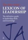Image for The John Adair lexicon of leadership