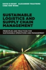 Image for Sustainable logistics and supply chain management