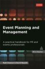 Image for Event planning and management  : a practical handbook for PR and events professionals
