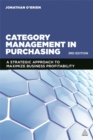 Image for Category management in purchasing  : a strategic approach to maximize business profitability