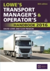 Image for Lowe's transport manager's and operator's handbook 2016