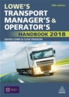 Image for Lowe's transport manager's and operator's handbook 2018
