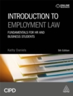 Image for Introduction to employment law  : fundamentals for HR and business students