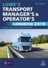 Image for Lowe's transport manager's and operator's handbook 2019
