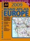 Image for AA 2009 road atlas Europe
