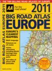 Image for AA 2011 big road atlas Europe