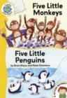 Image for Five little monkeys  : and, Five little penguins