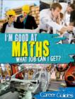 Image for I'm good at maths  : what job can I get?