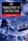 Image for The management of construction  : a project lifestyle approach