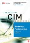 Image for Marketing fundamentals 2007-2008