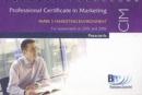 Image for CIM Marketing Environment : Passcard
