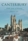 Image for Canterbury  : 2000 years of history