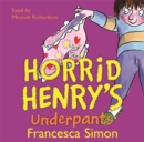 Image for Horrid Henry's Underpants