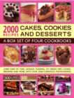 Image for 2000 recipes  : cakes, cookies & desserts