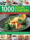 Image for 1000 soups and starters  : a box set of two recipe books