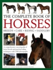 Image for The complete book of horses  : breeds, care, riding, saddlery