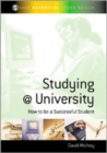 Image for Studying @ university  : how to be a successful student