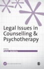 Image for Legal issues in counselling & psychotherapy