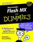 Image for Macromedia Flash MX for dummies