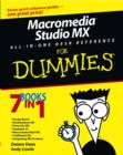 Image for Macromedia Studio MX all-in-one desk reference for dummies