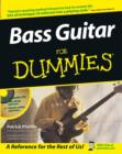 Image for Bass guitar for dummies