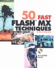 Image for 50 fast Flash MX techniques