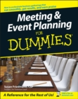 Image for Meeting & event planning for dummies
