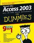 Image for Access 2003 all-in-one desk reference for dummies