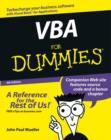 Image for VBA for dummies