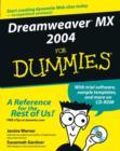 Image for Dreamweaver MX 2004 for dummies