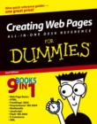 Image for Creating Web pages all-in-one desk reference for dummies