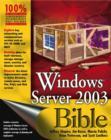 Image for Windows server 2003 bible