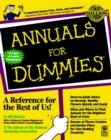 Image for Annuals for Dummies