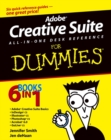 Image for Adobe Creative Suite all-in-one desk reference for dummies