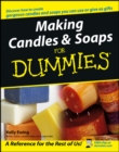 Image for Making candles & soaps for dummies