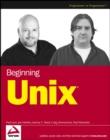 Image for Beginning Unix