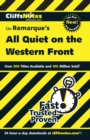 Image for Remarque's All quiet on the Western Front