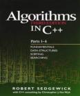 Image for Algorithms in C++: parts 1-4.