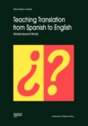 Image for Teaching Translation from Spanish to English : Worlds Beyond Words