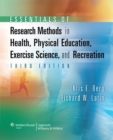 Image for Essentials of modern research methods in health, physical education, exercise science and recreation