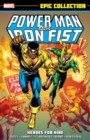 Image for Power Man & Iron Fist epic collection  : heroes for hire