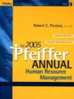 Image for The 2005 Pfeiffer Annual : Human Resource Management