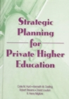 Image for Strategic Planning for Private Higher Education